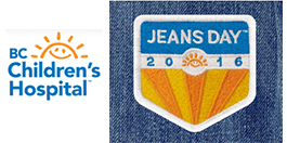 BC Children's Hospital Foundation - Jeans Day logos